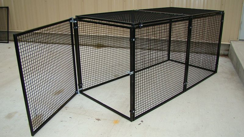 Bronze Plus Series Mesh Top Small Pet Cage