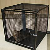 Options Plus Stackable Kennel with Caster Cart