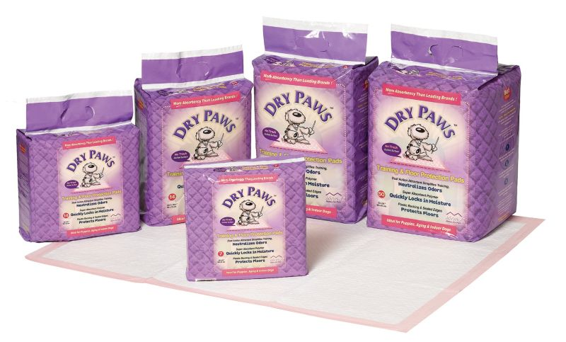 MidWest Dry Paws Puppy Pads 50 Pack Best Price