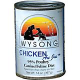 Wysong Canned Diets Chicken Au Jus Pet Food 12 Pk