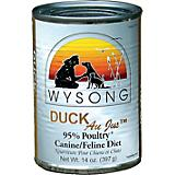 Wysong Canned Diets Duck Au Jus Pet Food 12 Pack