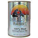 Wysong Canned Diets Rabbit Au Jus Pet Food 12 Pack