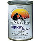 Wysong Canned Diets Turkey Au Jus Pet Food 12 Pack