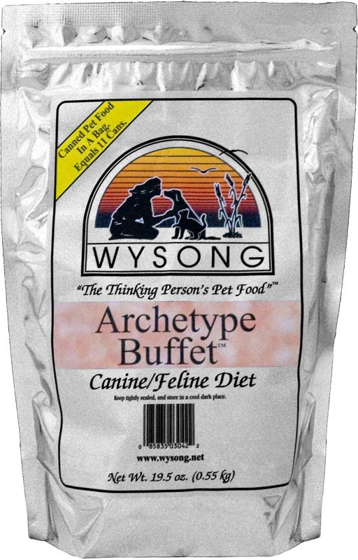 Wysong TNT Diets Raw Archetype Buffet Pet Food