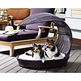 Refined Canine Indoor Outdoor Dog Chaise Lounger