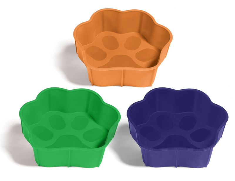 SafeMade Flexi-Bowl Dog Bowl Small Blue