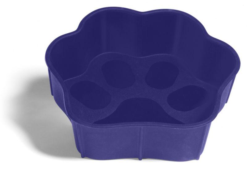 SafeMade Flexi-Bowl Dog Bowl Large Blue