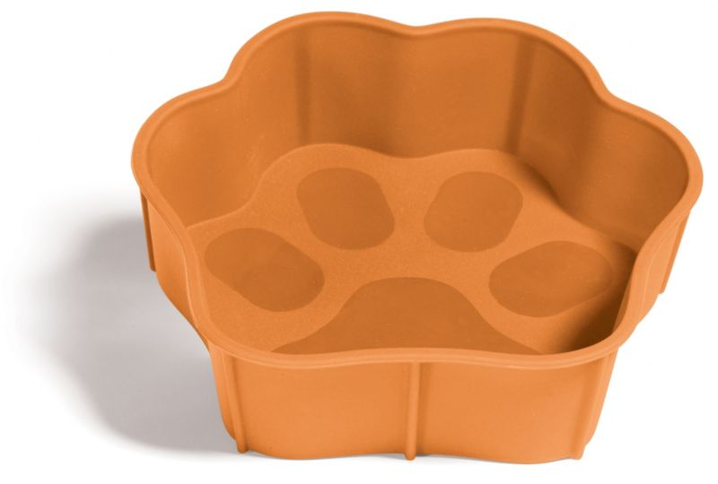 SafeMade Flexi-Bowl Dog Bowl Large Orange