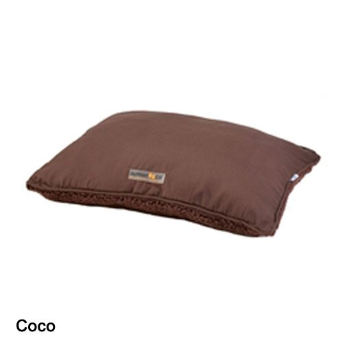 Alphapooch Softie Pillow Dog Bed Medium Garnet