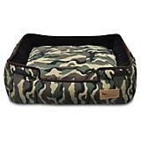 PLAY Camouflage Green Lounge Dog Bed