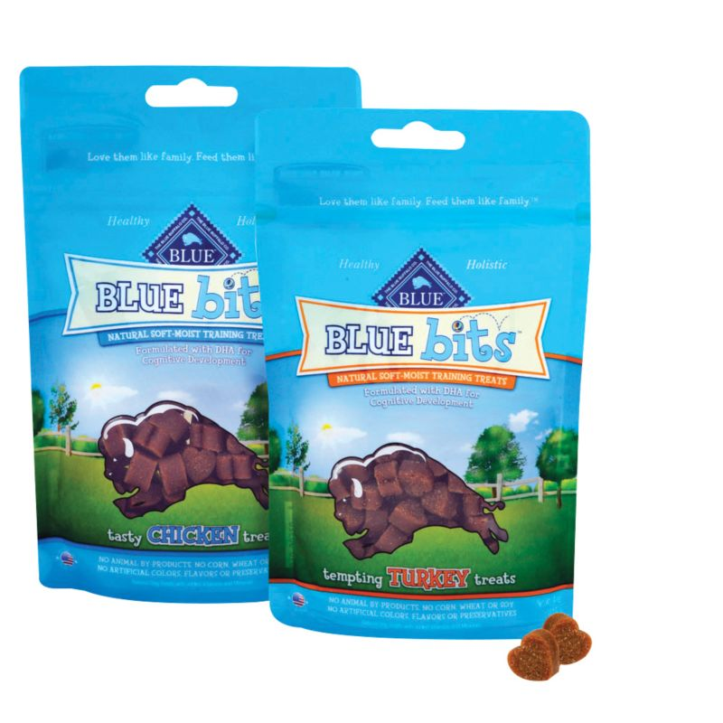 blue buffalo blue bits dog treat turkey on lovemypets.com