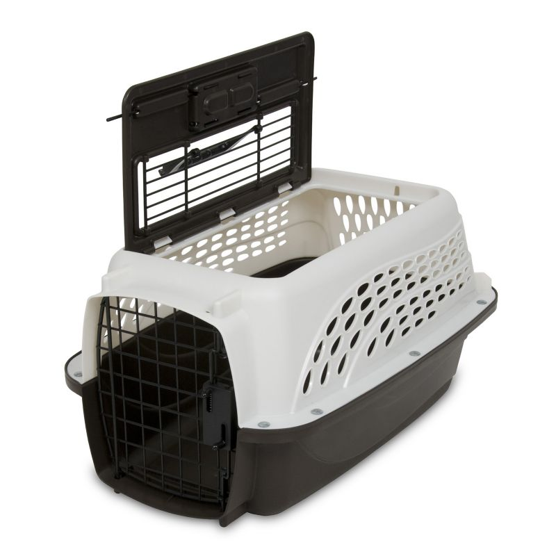 Petmate 2-Door Top Load Pet Kennel 19 inch