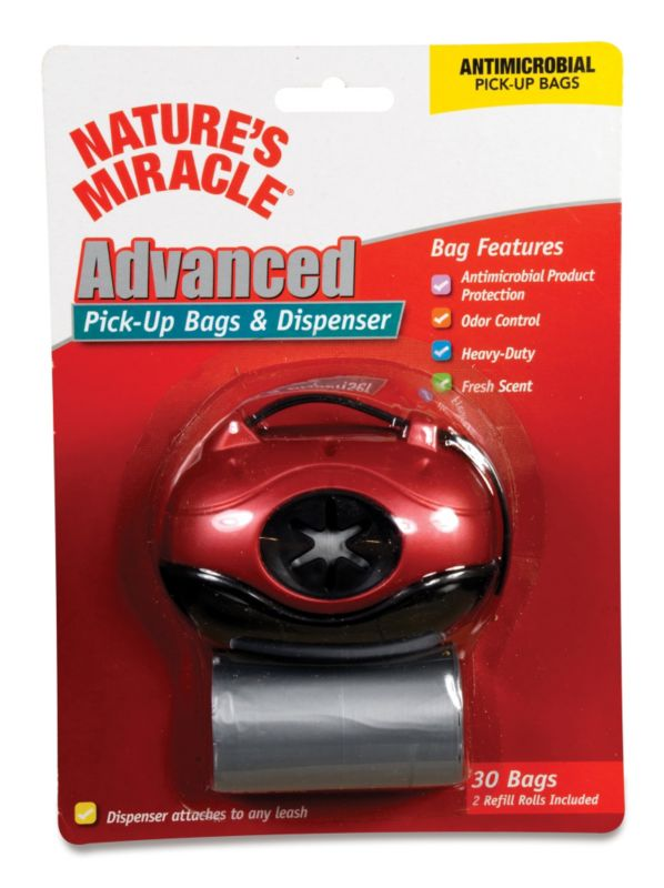 Nature's Miracle Dog Pick-Up Bag Dispenser Blue