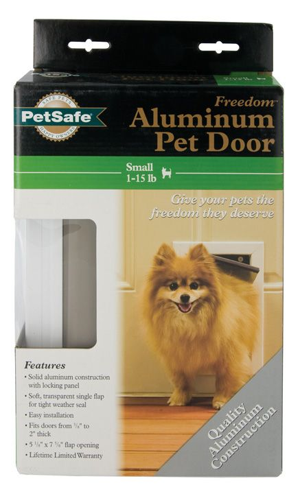 PetsSafe Freedom Aluminum Pet Door Small
