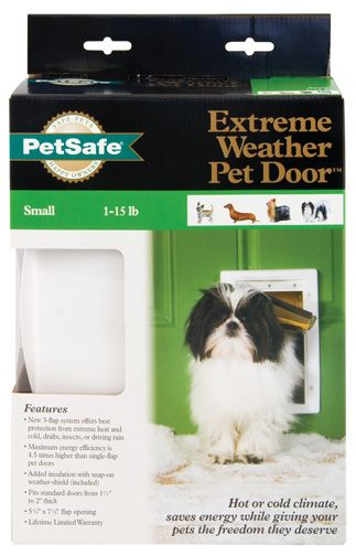 PetSafe Extreme Weather Pet Door Small