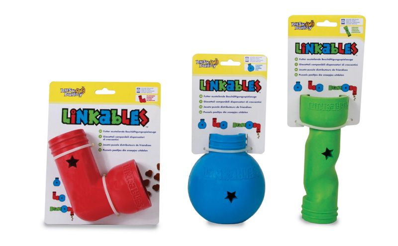 Busy Buddy Linkables Puzzle Dog Toy Elbow