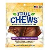 True Chews Pig Ear and Beef Bully Stick Combo