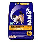 Iams Multicat Dry Cat Food Chicken