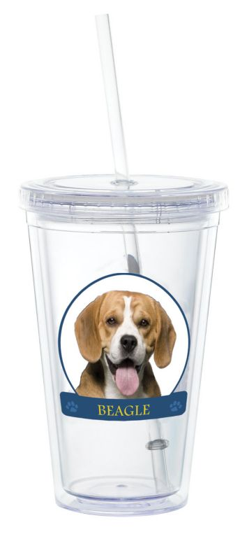 LittleGifts Plastic Drinking Cup Beagle