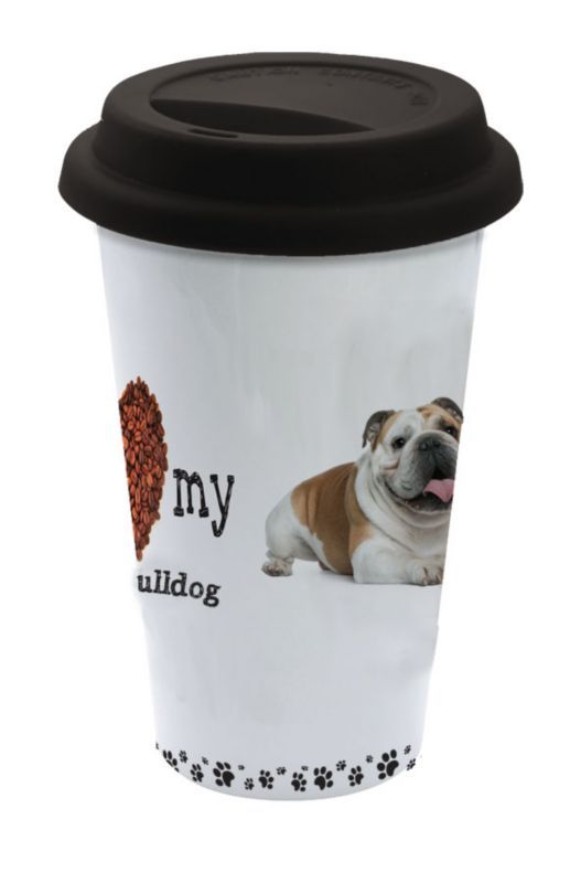 LittleGifts Ceramic Mug Bulldog
