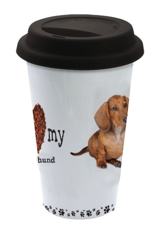 LittleGifts Ceramic Mug Dachshund