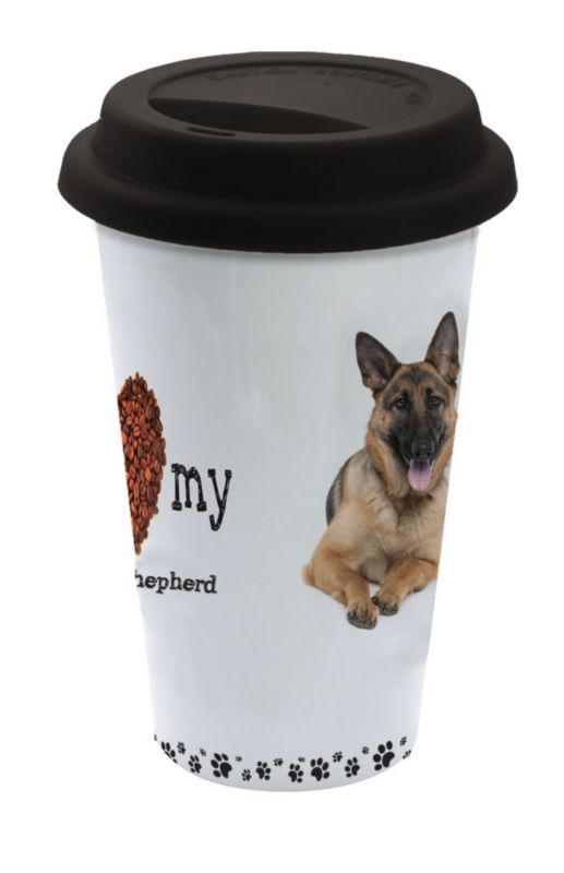LittleGifts Ceramic Mug German Shepard