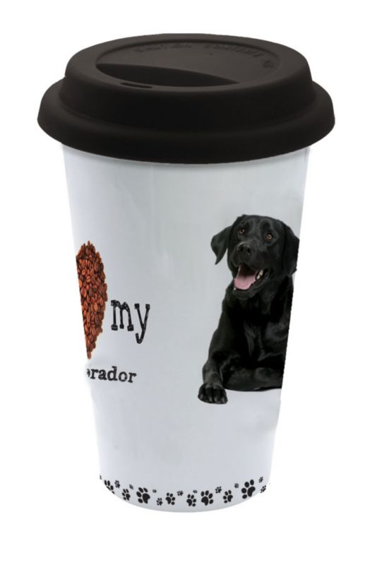 LittleGifts Ceramic Mug Black Lab