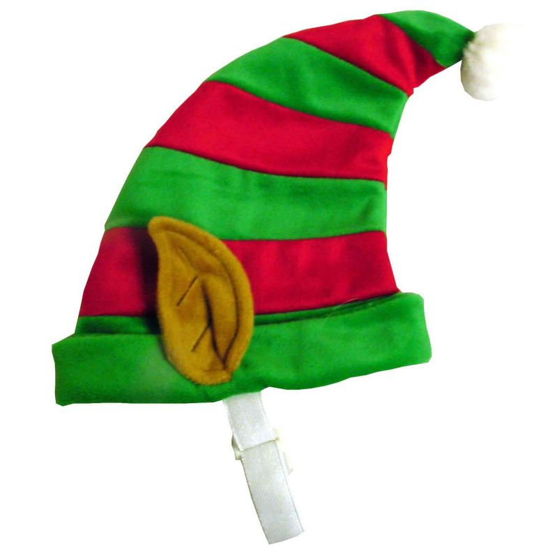 Holiday Elf Hat for Dogs Medium
