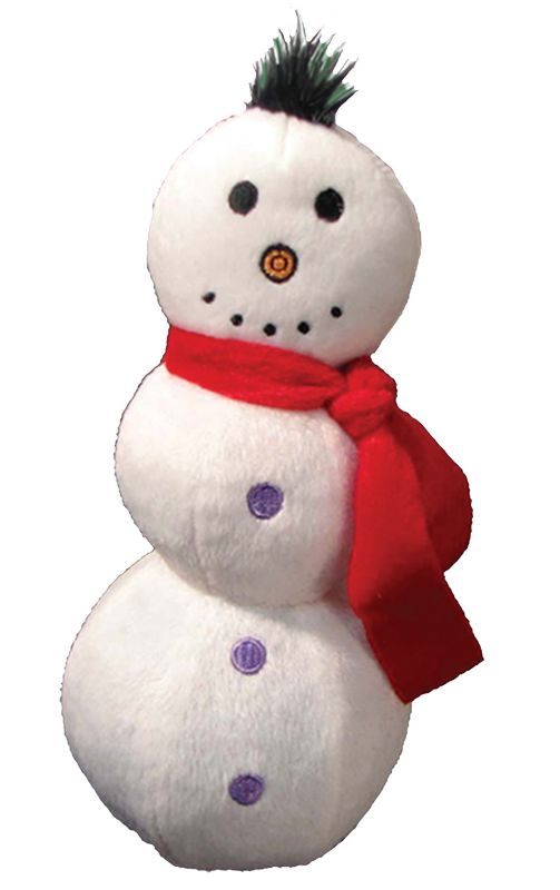 Ball Buddy Christmas Dog Toy Snowman