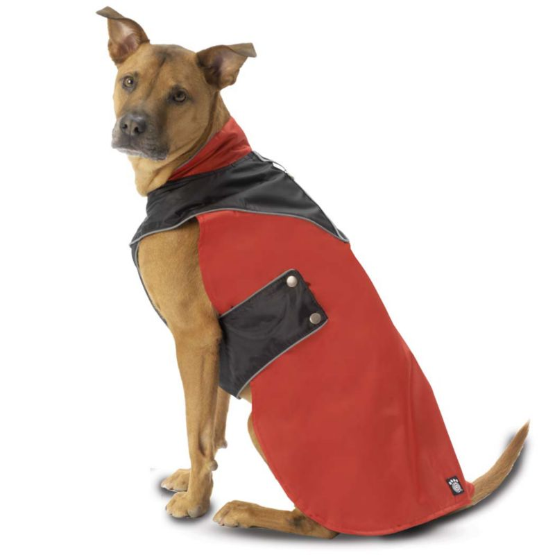 Tacoma Dog Coat Medium Gray/Black