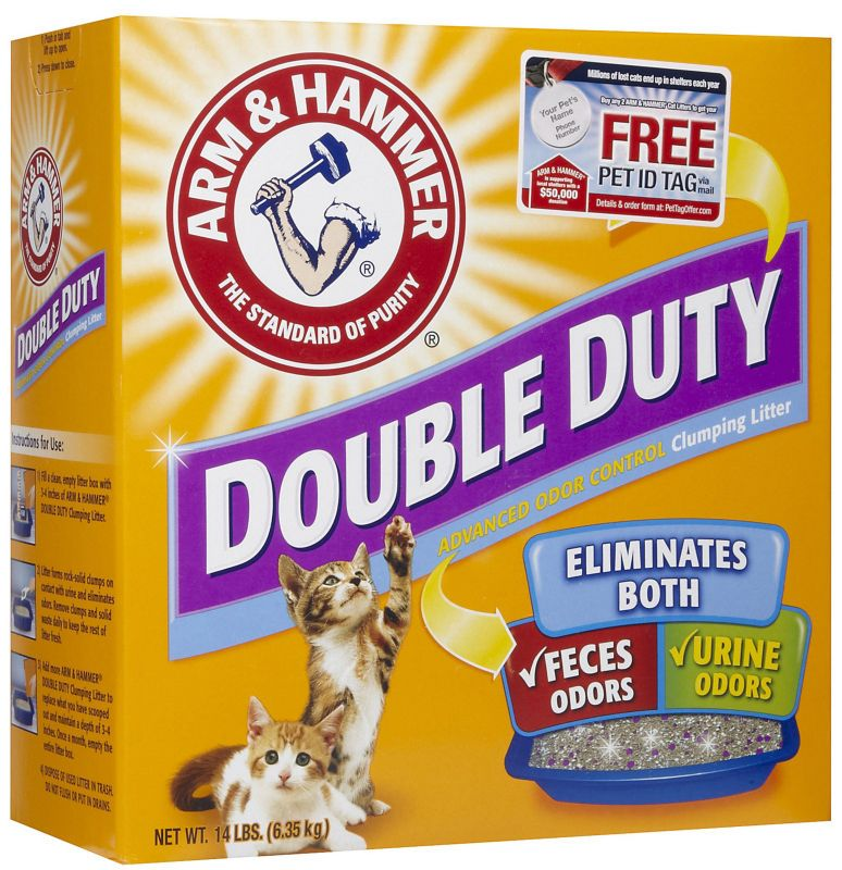 Arm and Hammer Double Duty Cat Litter 40 lb