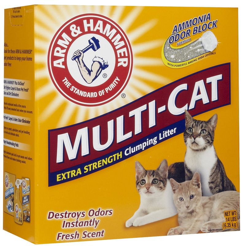 Arm and Hammer Multi-Cat Strength Cat Litter 40 lb