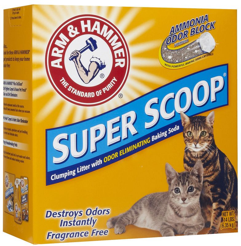 Arm and Hammer SuperScoop Cat Litter Unscent