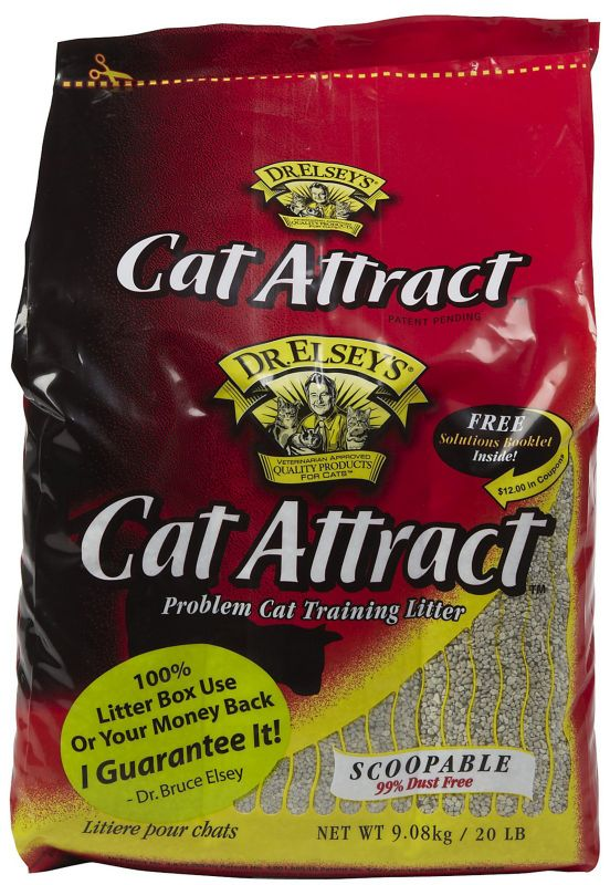 Dr. Elsey's Cat Attract Cat Litter 40 lb