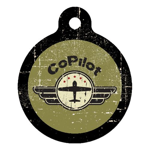 Co-Pilot Pet ID Tag Large