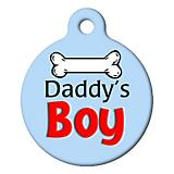 Daddys Boy Pet ID Tag