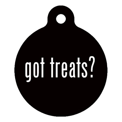 Got Treats Pet ID Tag Large