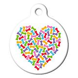 Heart of Bones Pet ID Tag