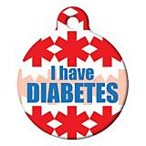 I Have Diabetes Pet ID Tag