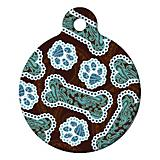 Java Paisley Pet ID Tag