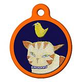 Kitty Close Up Cat ID Tag