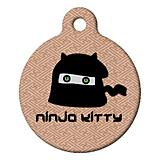 Ninja Kitty Cat ID Tag