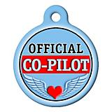 Official Co-Pilot Pet ID Tag