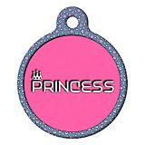 Princess Pet ID Tag