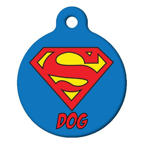 Super Dog Pet ID Tag Small