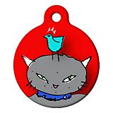 Temptation Cat ID Tag