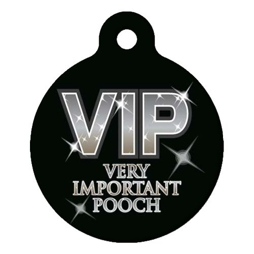 Very Important Pooch Pet ID Tag Small