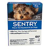 Sentry Flea Tick Control For Dogs 3 Mo