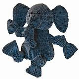 Hugglehounds Magnus the Elephant Knottie Dog Toy