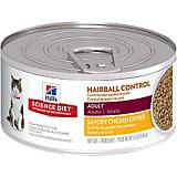 Science Diet Hairball Chicken Cat Food